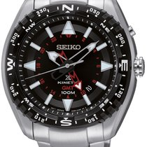 Seiko SUN049P1 Prospex Kinetic GMT 46mm 10ATM