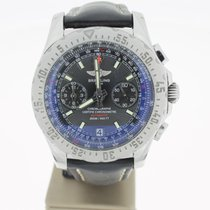 Breitling Chronograph skyRacer 43mm Steel (B&P2014) BlackDial