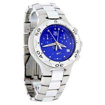 TAG Heuer Kirium Mens Blue Dial Swiss Chronograph Quartz Watch...