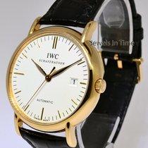 IWC Portofino 18k Rose Gold Mens Automatic Watch Box/Papers 3565