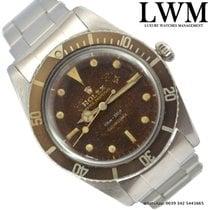 "Rolex Submariner 5508 ""James Bond"" tropical gilt dial Full Set"