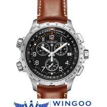Hamilton KHAKI AVIATION X-WIND CHRONO QUARTZ GMT Ref. H77912535