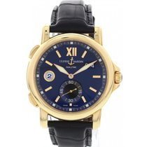Ulysse Nardin Men's  Dual Time 18K Rose Gold Watch 246-55-32