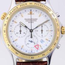 Jaeger-LeCoultre Heraion Reveil Chronograph Stahl Gold white...