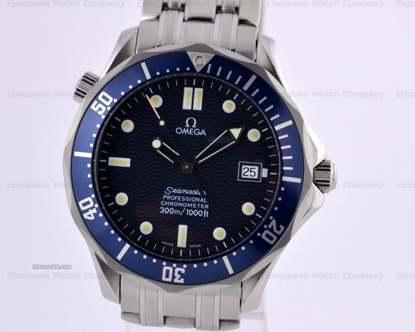 Omega Seamaster Professional SS Blue Dial