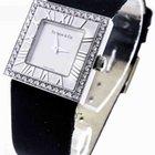 Tiffany & Co. L3760 Atlas 18k White Gold Diamond Quartz Watch