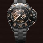 Zenith 'Defy Xtreme Open Chronograph Rose Gold and Black...