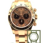 Rolex Daytona cosmograph pink gold pink dial 116505
