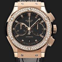 Hublot Classic Fusion Chronograph King Gold Diamonds 45 mm