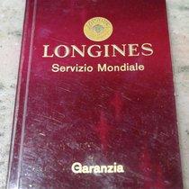 Longines vintage red warranty booklet 1966