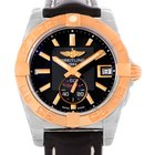 Breitling Galactic 36 Stainless Steel Rose Gold Watch C37330...