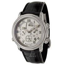 Blancpain Men's Leman GMT Alarm Watch