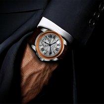 Cartier Calibre De Cariter 18k Rose Gold Men's Watch