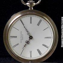 Patek Phillipe 865 Pocket Watch 18k Enamel Dial