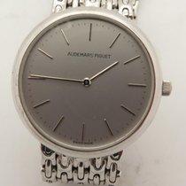 Audemars Piguet Solid 18k White Gold Watch W' 18k White...