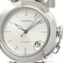 Cartier Polished Cartier Pasha C Steel Automatic Unisex Watch...