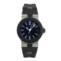 Bulgari Diagono Rubber Ladies Ref. DG35BSVD