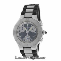 Cartier Men's Must 21 Chronoscaph Ref. 2424 Chronograph...