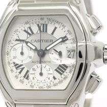 Cartier Polished Cartier Roadster Chronograph Automatic Mens...