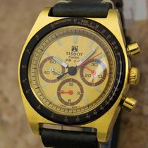 Tissot PR516 Swiss Made 1970s Men Gold Plate Calibre 873...