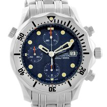 Omega Seamaster Chronograph Mens Watch 2598.80.00 Box Papers