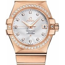 Omega 123.55.35.20.52.001 Constellation Chronometer - Diamond...