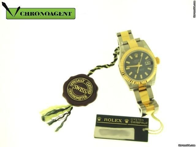 Rolex Datejust Lady In Acciaio E Oro Giallo 18ct Ref. 179173