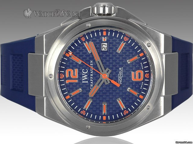 IWC Ingenieur &amp;#34;Plastiki&amp;#34; Mission Earth - Ref. 3236-03 - 46mm Stainless Steel - Special Edition 1000 Pieces - Boxes/Papers &amp;amp; As-New