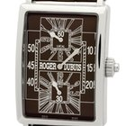 Roger Dubuis Much More Dual Time 18k White Gold Chocolate Dial...