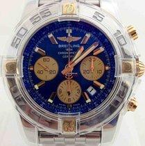 Breitling IB0110 Two Tone Chronomat Blue Dial