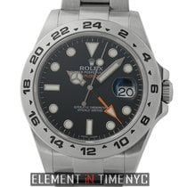 Rolex Explorer II Stainless Steel Black Dial 42mm Ref. 216570