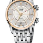 Oris Artelier Alarm Steel and Rose Gold