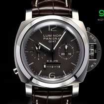 Panerai Pam 311 Luminor Chrono Monopulsante 8-days Gmt 1950...