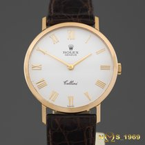 Rolex Cellini 18 K Gold 32 mm Ref.4112 Men's 1991 Year