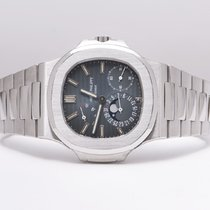 Patek Philippe Nautilus Moon Phase Power Reserve