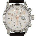 Louis Erard Heritage Day Date Chronograph Stahl Automatik 40mm