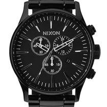 Nixon A386-001 Sentry Chrono All Black 42mm 10ATM