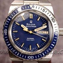 "Bulova Accutron Snorkel 666 Ref. 7526 ""big Blue"" 1974..."