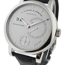 A. Lange & Söhne 130.025 Lange 31 Mens Manual in Platinum...