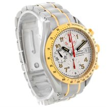 Omega Speedmaster Steel Yellow Gold Automatic Watch 3313.33.00