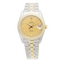 Tudor Prince Date 74033-62473-10di-chcl Watch