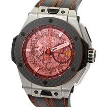 Hublot Big Bang Ferrari Carbon Red Magic Titanium 45MM