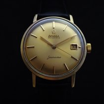 Omega Vintage Automatic Seamaster 18k Gold 60's