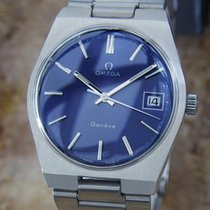 Omega Geneve Cal 613 Swiss Vintage Manual Stainless Steel 1970...