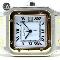 Cartier Santos Galbee Steel & Gold