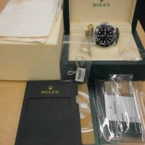 Rolex Submariner 114060 40mm Ceramic No Date Dive Watch