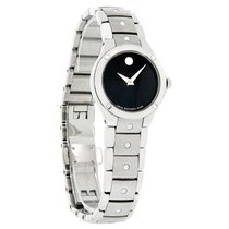 Movado S.E. Sports Edition Ladies Black Dial Swiss Watch 0605791