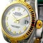 Rolex Datejust Steel / Yellow Gold White Dial 26mm Ref. 179173