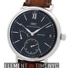 IWC Portofino Collection Portofino Hand Wound Eight Days Black...