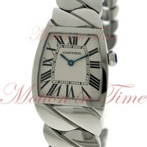 Cartier La Dona Large Ladies, Silver Dial - Stainless Steel on...
